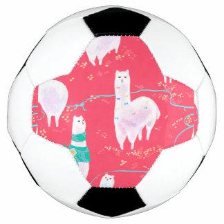 Balón De Fútbol Fondo lindo del rojo del ejemplo de Perú de las