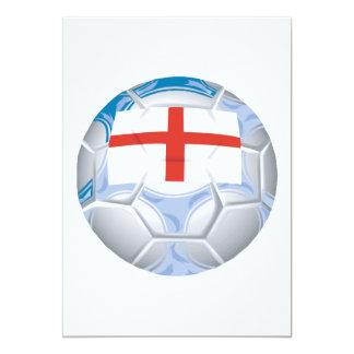 Balón de fútbol inglés anuncio
