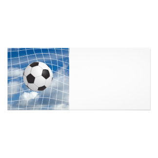 Balón de fútbol invitación