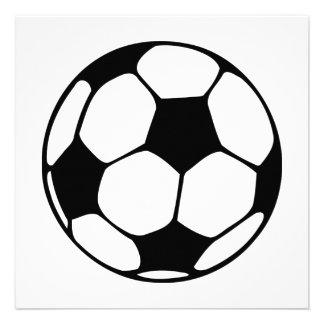 balón de fútbol anuncio