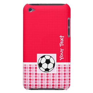 Balón de fútbol lindo barely there iPod protectores