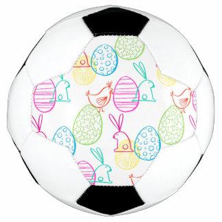 Balón De Fútbol Modelo incompleto del ejemplo del conejito del