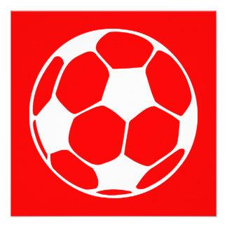 balón de fútbol: personalizable del color comunicados