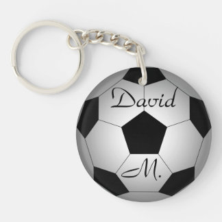 Balón de fútbol, personalizado llavero