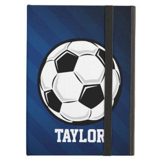 Balón de fútbol; Rojo, blanco, y azul