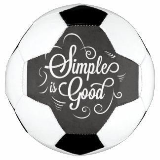 Balón De Fútbol Simple es la buena cita de motivación de la vida