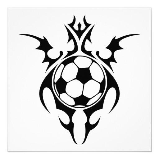 balón de fútbol tribal comunicado personal