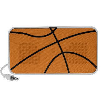 baloncesto iPod altavoz