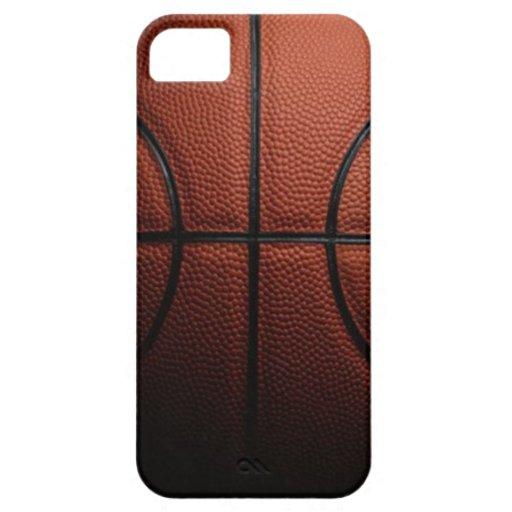 Baloncesto - caso del iPhone 5 iPhone 5 Case-Mate Funda