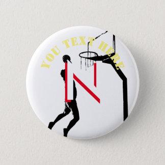 Baloncesto Chapa Redonda De 5 Cm
