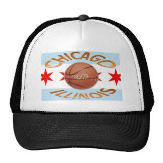 Baloncesto de los llinois de Chicago Gorros