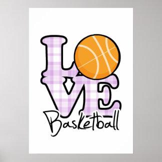 Baloncesto del amor póster