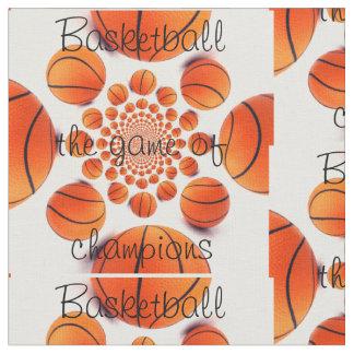 Baloncesto el juego de la tela de los campeones