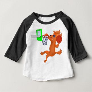Baloncesto feliz por los Happy Juul Company Camiseta De Bebé
