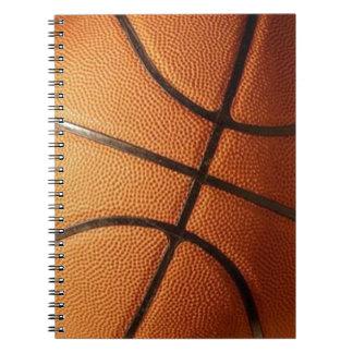 Baloncesto Libro De Apuntes Con Espiral