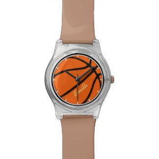 baloncesto personalizado deporte-temático reloj