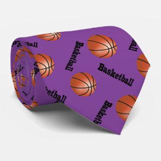 Baloncesto púrpura deportivo del fondo el | corbata