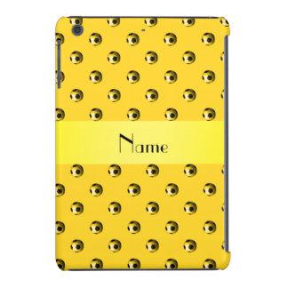 Balones de fútbol amarillos conocidos fundas de iPad mini