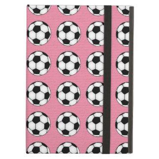 Balones de fútbol en rosa