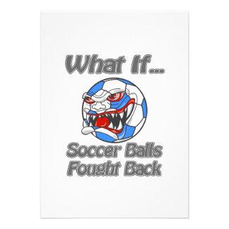 Balones de fútbol comunicados personales