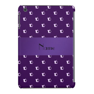 Balones de fútbol púrpuras conocidos fundas de iPad mini retina