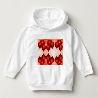 Baloons rojos de la camiseta para los niños