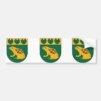 Balozi, Letonia Pegatina Para Coche
