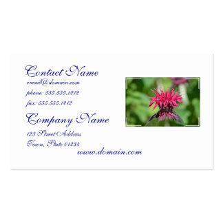 Bálsamo de abeja rosado plantillas de tarjetas personales