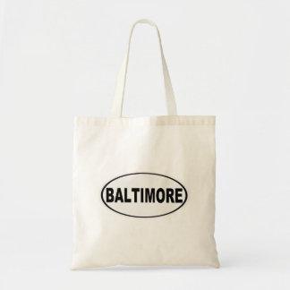 Baltimore Maryland Bolso De Tela