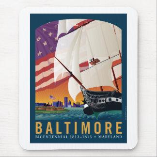 Baltimore: Por la luz temprana del amanecer Alfombrilla De Ratón