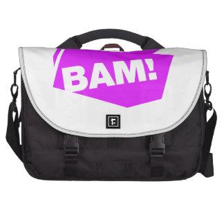 ¡BAM! violett Bolsas De Portatil