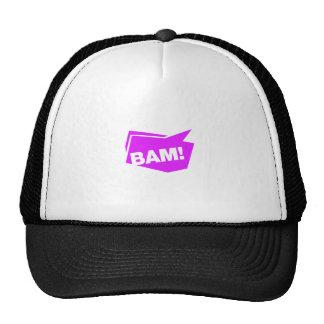 ¡BAM! violett Gorras