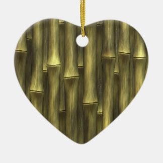 Bambú - ornamento de navidad