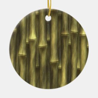Bambú - ornamentos de navidad