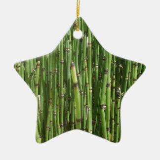 Bambú Ornamento De Navidad