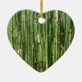 Bambú Ornamento Para Arbol De Navidad