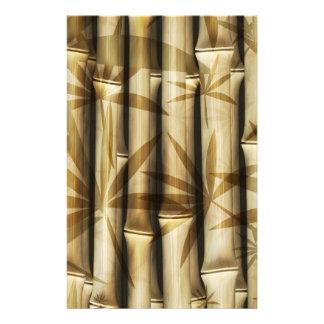 Bambú de Asia Tarjetas Publicitarias