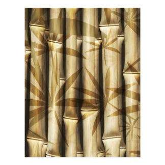 Bambú de Asia Flyer Personalizado
