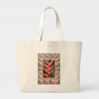 Bambú de Heliconia de las flores del regalo del Bolsa Tela Grande