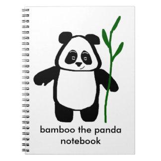 Bambú el cuaderno de la panda
