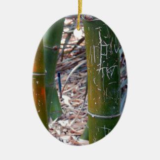 Bambú grabado al agua fuerte