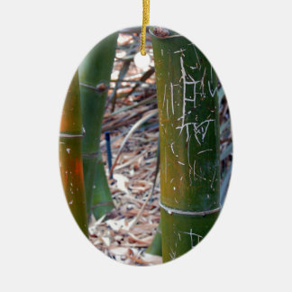 Bambú grabado al agua fuerte ornamentos de reyes