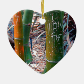 Bambú grabado al agua fuerte ornamento de reyes magos