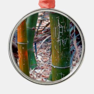 Bambú grabado al agua fuerte ornamentos para reyes magos