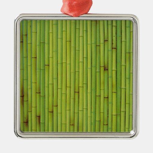 Bambú-Verde Adorno