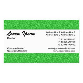 Banda de centro 019 - textura grabada en relieve tarjetas de visita