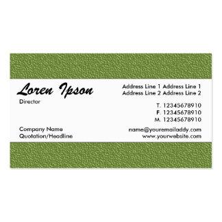 Banda de centro 021 - textura grabada en relieve tarjetas de visita