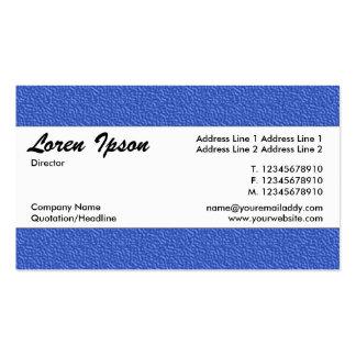 Banda de centro 022 - textura grabada en relieve tarjetas de visita