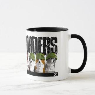 Banda de fronteras - taza