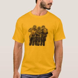 Banda de la guerra mundial 2 de la camiseta del